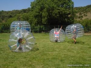 zorb-ball-campamento-inglés-2015