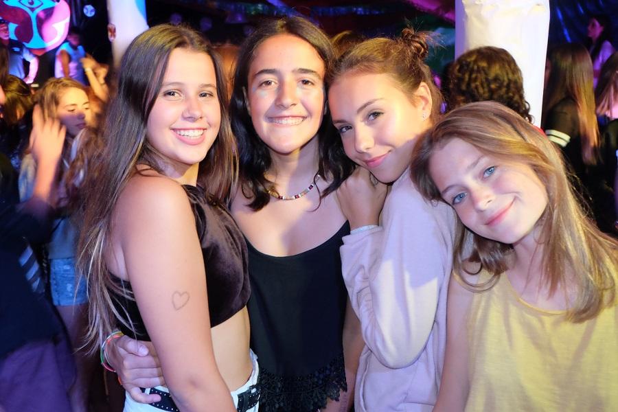 GIRLS AT TOMORROWLAND
