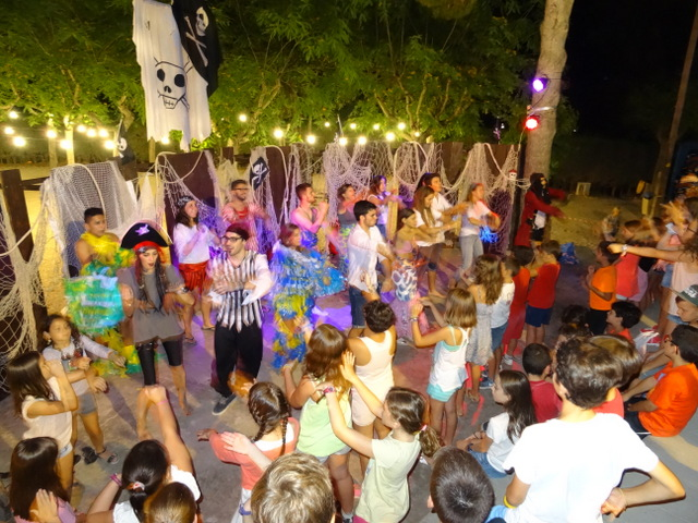 pirate nightt campamentos de verano