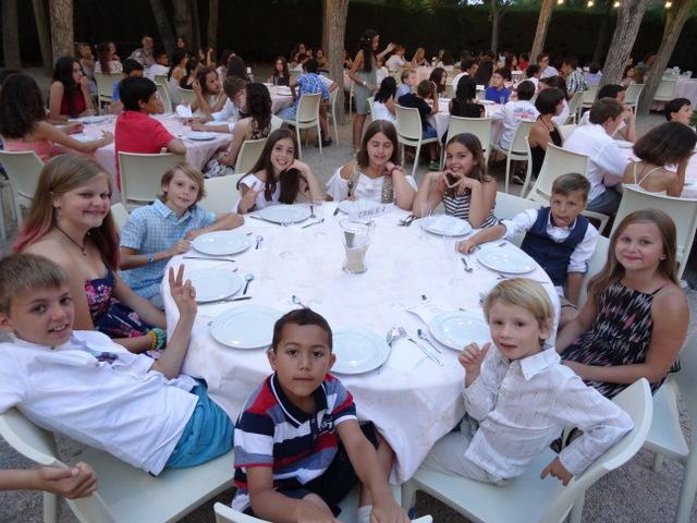 campamentos de verano noche de gala