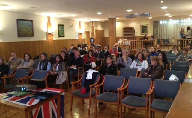 reunión informativa Pamplona