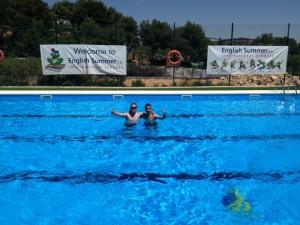 nueva piscina campamentos de Tamarit