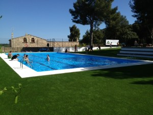 nueva piscina campamentos Tamarit