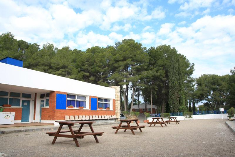 campamentos de verano finca Tamarit