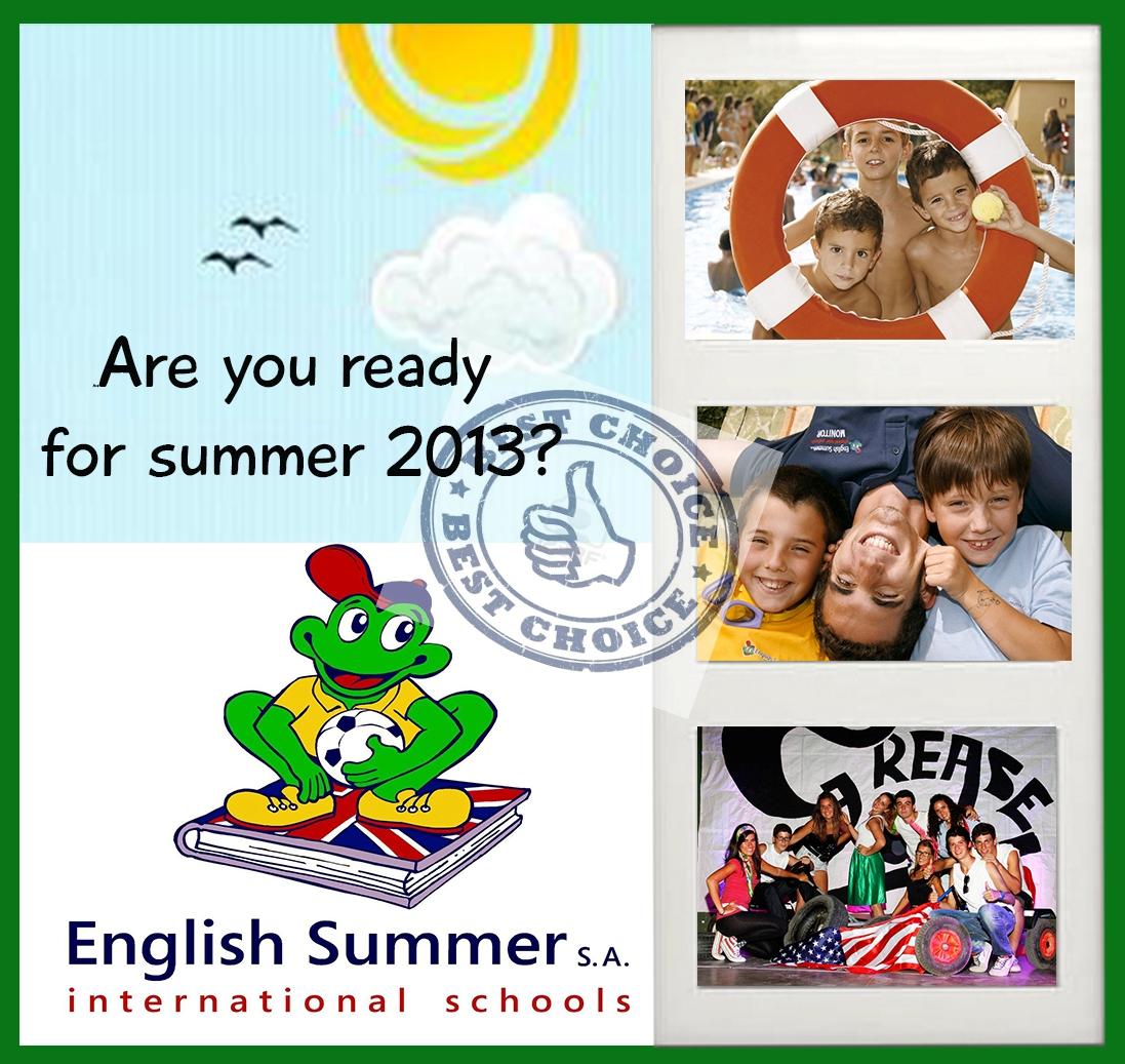 are you ready for summer 2013 campamentos de verano