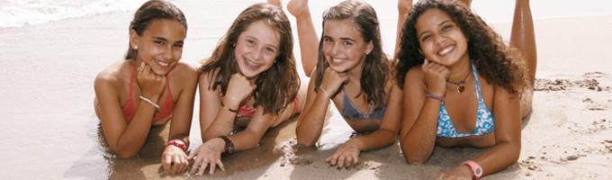 campamentos de verano playa
