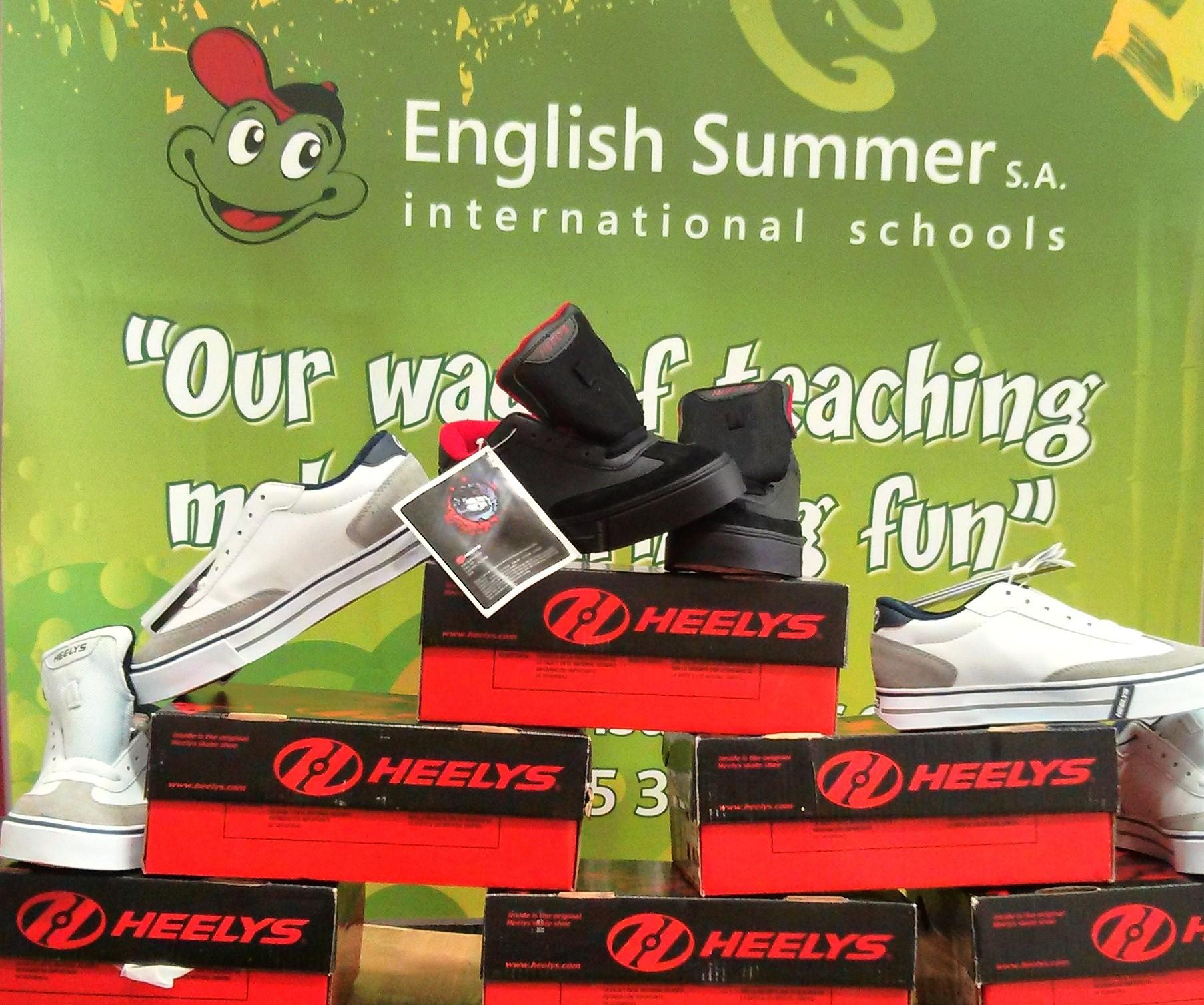 Heelys en los campamentos de verano