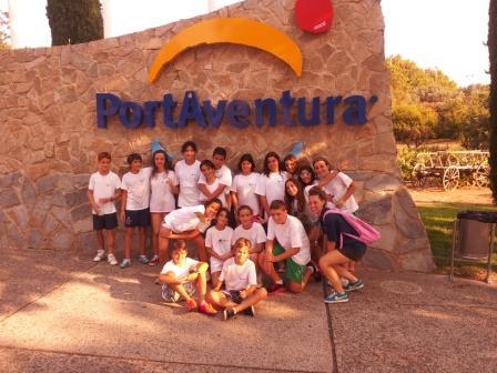 campamentos de verano en Port Aventura