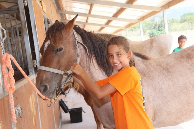 Horseriding-poblet-englishsummer