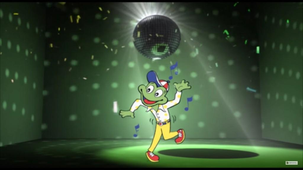 froggy dancing