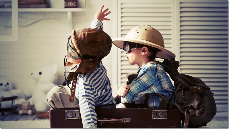 niños-maleta