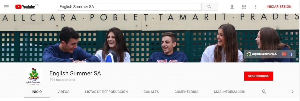 perfil youtube ES