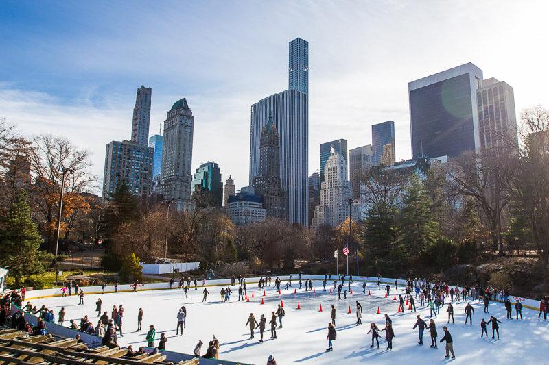 Ice-skating-Central-Park-New-York-at-Christmas